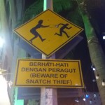 Snatch thief!