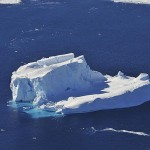 Icebergs, travelling and global warming