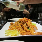Wine and seafood at Sydney Seafood School